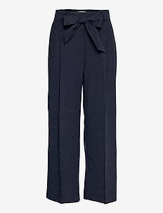 Trouser Lykke - bukser med brede ben - blue