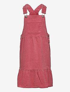 Dress dungaree Siri - kjoler - pink