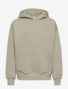Sweatshirt with hoodie Ocean - hoodies - khaki