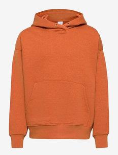 Sweatshirt with hoodie Ocean - hoodies - orange