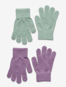Gloves magic color 2 p - moufles - lilac