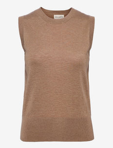 Vest Evelina - gebreide vesten - beige