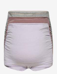 Maternity briefs 3 p fashion c - midi & maxi trusser - multi