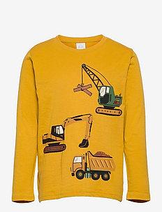 Top LS Vehicle worker trucks - lange mouwen - yellow