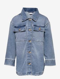Shirt denim overshirt - shirts - blue