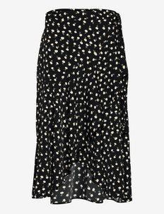 Skirt Serena - kietaisuhameet - black