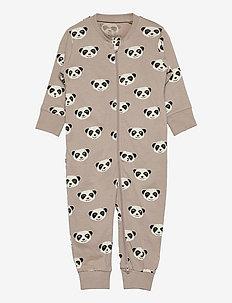 Pyjamas Meerkat at back - natdragter - beige