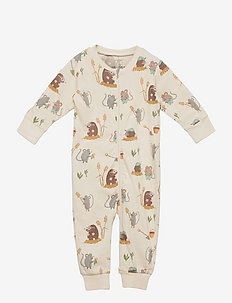 Pyjamas Mole and Friends - natdragter - beige