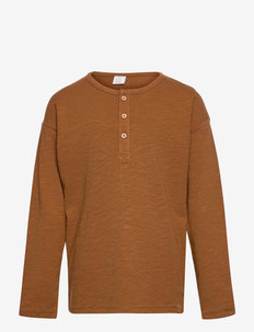 Top LS Essential Solid - manches longues - brown
