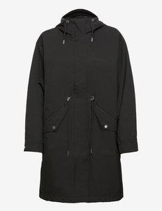 Coat Polly rain parka - manteaux de pluie - black