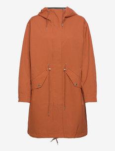 Coat Polly rain parka - manteaux de pluie - orange