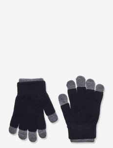 Gloves magic double recycled - vanter - black