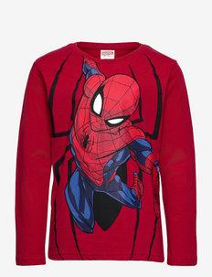 Top LS Spiderman - lange mouwen - red
