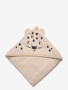Towel terry Snow Leopard - bademode - beige