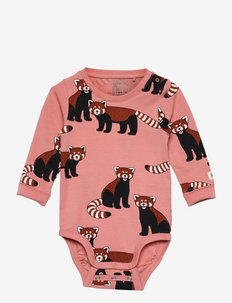 Body Red Panda aop - manches longues - pink