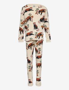 Pajama CoP Red Panda - sets - beige