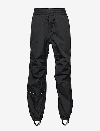 Rain trousers boy & girl - vinterbyxor - black