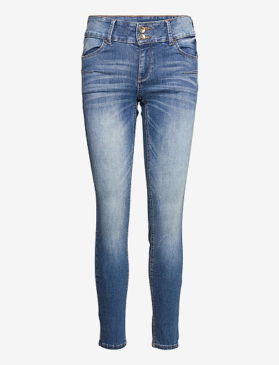 Trousers denim Lilly midblue - skinny jeans - blue