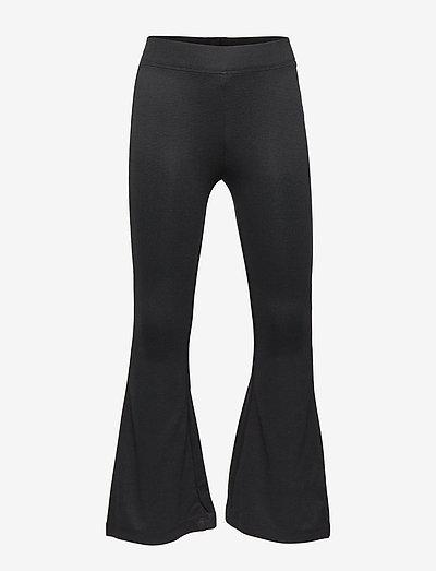 Trousers Grace flare - byxor - black