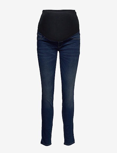 Trousers MOM Dolly tricot - mom jeans - denim