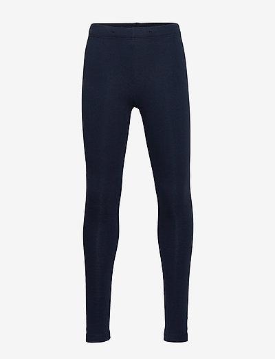 Leggings basic brushed inside - leggings - blue