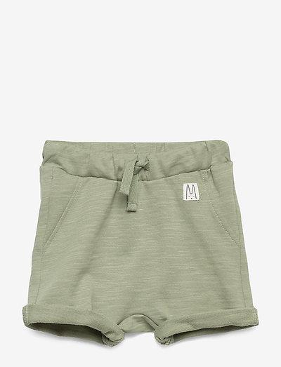 Shorts solid fleece - shorts - dusty green