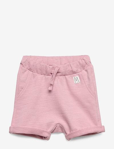 Shorts solid fleece - shorts - dusty pink