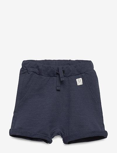 Shorts solid fleece - shorts - navy