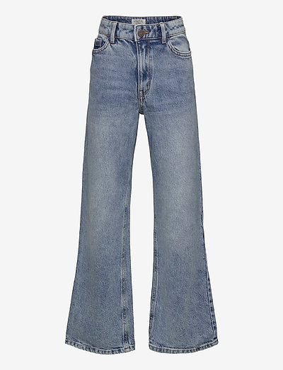 Trousers denim Vanja washed bl - jeans - blue