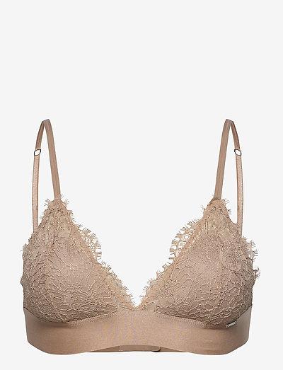 Bra Nora bralette - bras with padding - beige