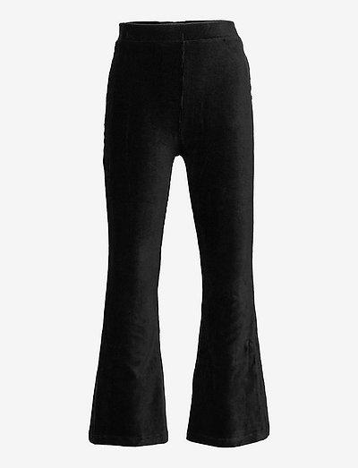 Trousers Mandy flare cord - byxor - black