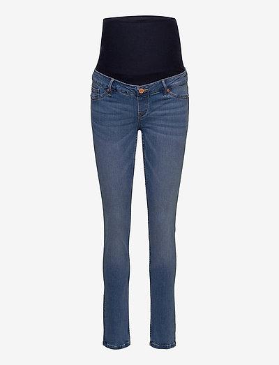 Trousers denim MOM Clara blue - mom jeans - blue
