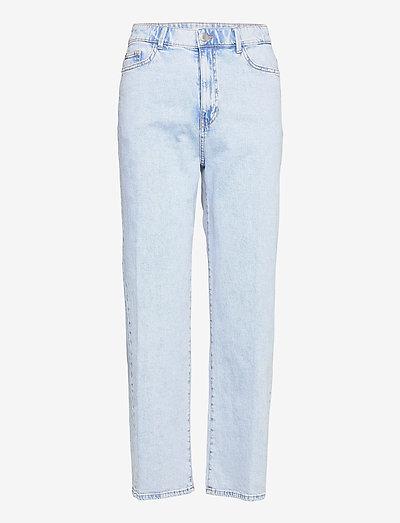 Trousers denim Hanna lt blue - mom jeans - blue