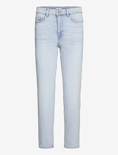 Denim trousers Nea light blue - straight regular - blue