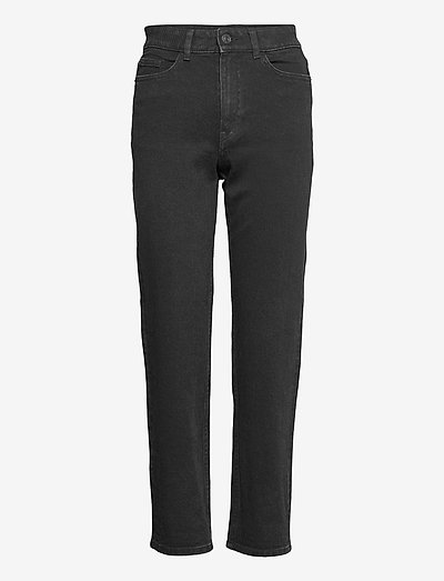 Denim trousers Nea black - mom jeans - black