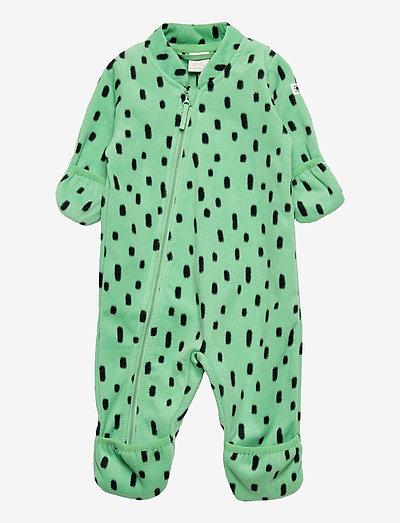 Overall fleece - bovenkleding - green