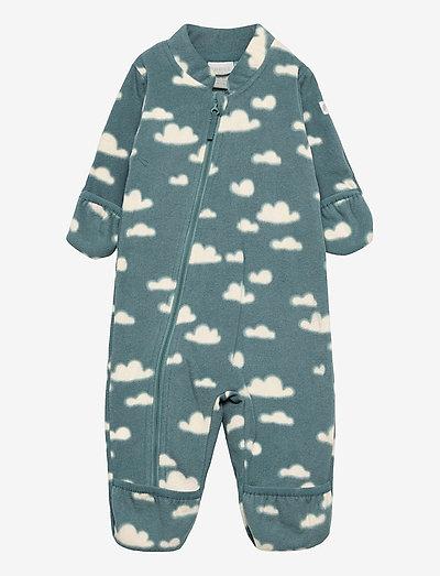 Overall fleece - bovenkleding - turquoise