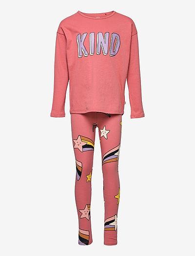 Top   leggings SET  KIND - 2-delige sets - coral