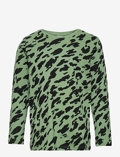 Top LS Basic AOP UNISEX - langärmelig - green