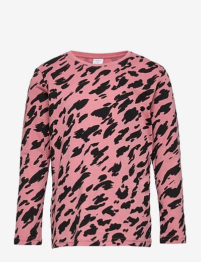 Top LS Basic AOP UNISEX - langärmelig - pink