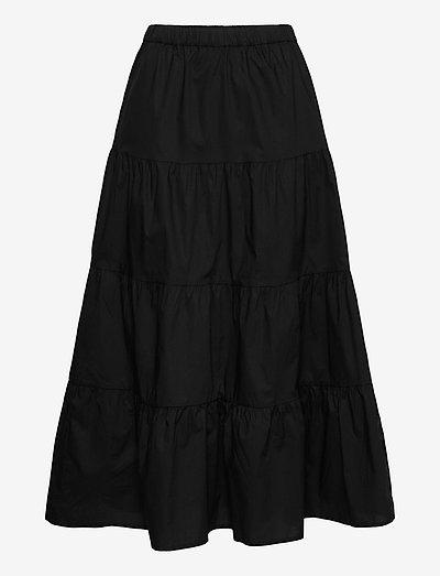 skirt Gigi - lange skjørt - black