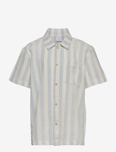 Shirt shortsleeved  linen cott - skjorter - white