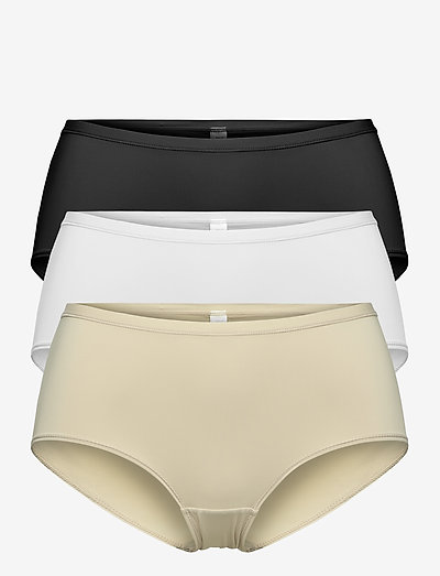 Brief 3-pack Polly Classic re - slips - multi