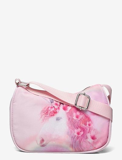 Bag photoprint Unicorn - kleine tassen - pink