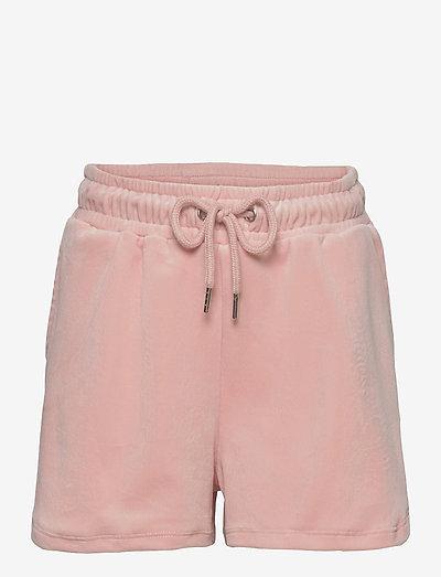 Shorts Valeri velour - shorts - pink