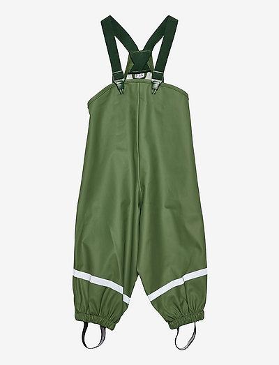 Raintrousers PU small kids - trousers - green
