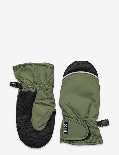 Mitten waterproof AW 21 - vantar - green