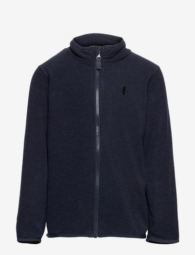 Fleece fix solid - fleece jacket - blue