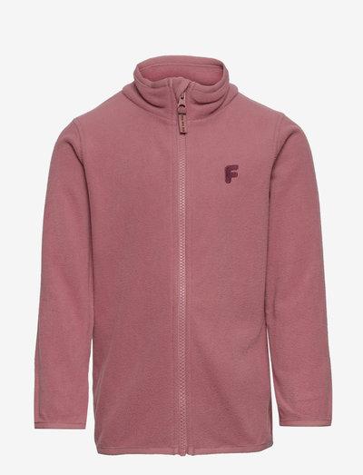 Fleece fix solid - fleece jacket - pink