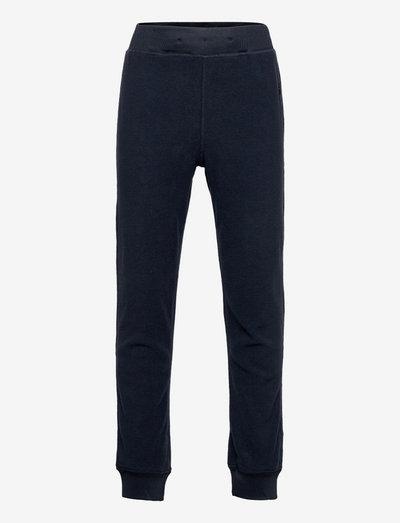Fleece FIX trousers - sweatpants - blue